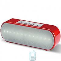 Портативная колонка WSTER WS-2513BT LED красная