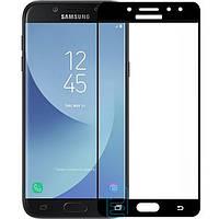 Защитное стекло Samsung J5 2017 J530 Full Screen black тех.пакет
