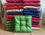 Пошив мягких подушек на стул из водоотталкивающей ткани, фото 2