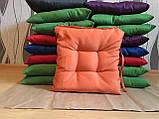 Пошив мягких подушек на стул из водоотталкивающей ткани, фото 3