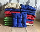 Пошив мягких подушек на стул из водоотталкивающей ткани, фото 4