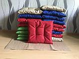Пошив мягких подушек на стул из водоотталкивающей ткани, фото 5