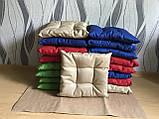 Пошив мягких подушек на стул из водоотталкивающей ткани, фото 6