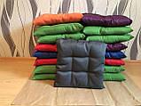 Пошив мягких подушек на стул из водоотталкивающей ткани, фото 7
