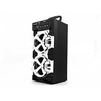 Беспроводная портативная колонка JHW-QS105 Bluetooth + FM черная