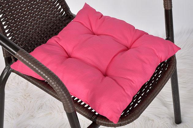"Мягкая подушечка на стул ""Pink"""