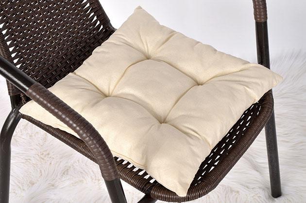 """Мягкая подушечка на стул """"Beige"""""""