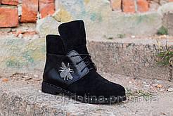 Замшевые женские ботиночки осень/зима от Christina