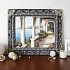 Панно настенное декоративное Итальянский дворик цветной в раме