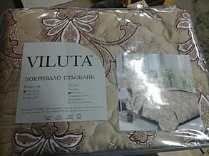 Покривало стьобане Viluta полікотон 140*210 асорті