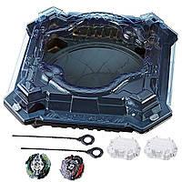 Арена Бейблейд Змеиная и 2 волчка Doomscizor D3 и Legend Spryzen S3 Shadow Snake Pit Hasbro