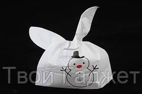 ОПТ/Розница Пакет подарочный со снеговиком