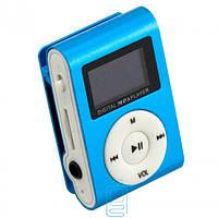 MP3 плеер TD05 с FM и дисплеем синий