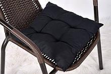 """Мягкая подушечка на стул """"Black"""""""