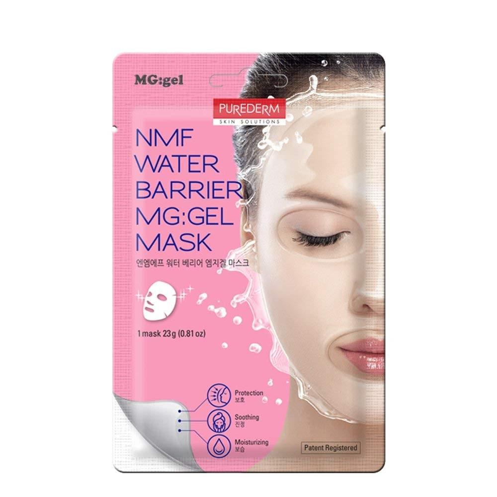 Гидрогелевая маска с натуральным увлажняющими факторами Purederm NMF Water Barrier Gel Mask