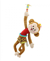 Мягкая Подвеска Мартышка Happy Monkey 30 См, фото 1