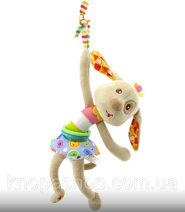 Мягкая Подвеска Собачка Happy Monkey