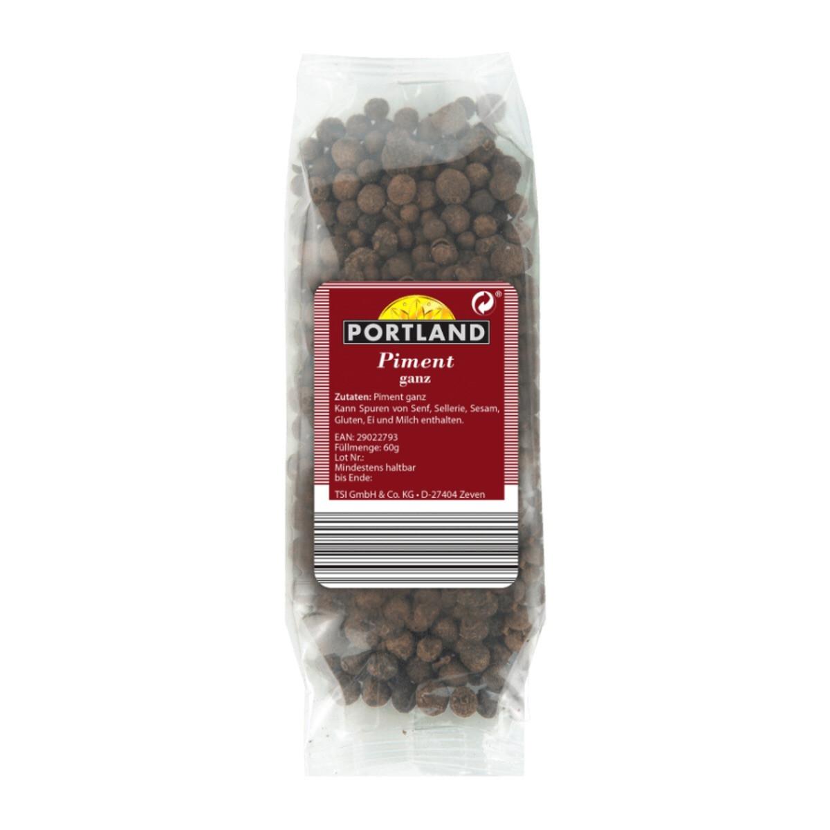 Запашний перець горошком Portland Piment Ganz, 60 грам