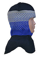 Шапка-шлем для мальчика яркая