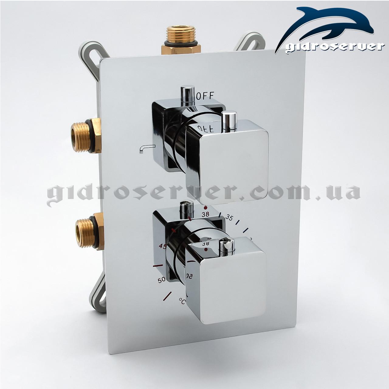 Термостатический смеситель для скрытого монтажа KVTB-03.