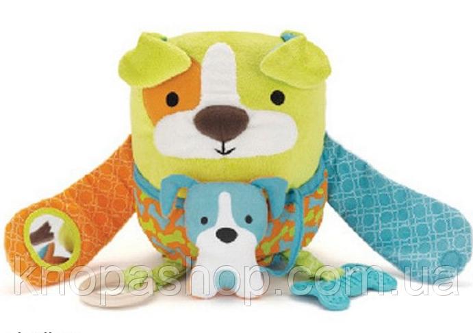 Развивающая игрушка-обнимашка Собака.