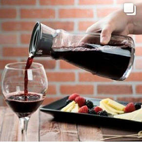 Декантер для вина Arcoroc Fluid 1л с крышкой L4193, фото 2
