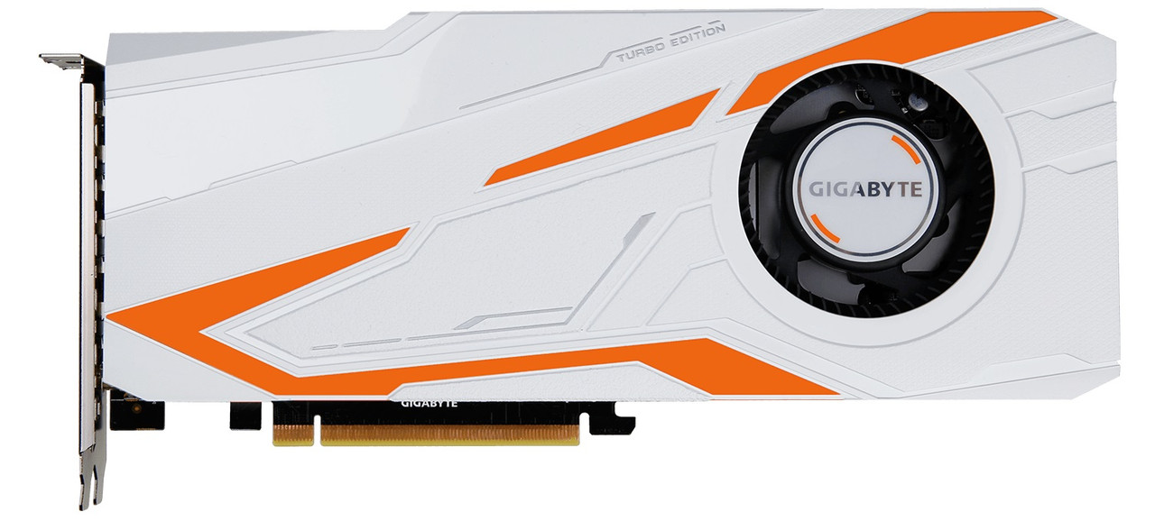 "Видеокарта Gigabyte GTX1080 Ti Turbo 11GB GDDR5X 352bit (GV-N108TTURBO-11GD) ""Over-Stock"" Б\У"