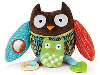 Развивающая игрушка-обнимашка Сова, фото 1
