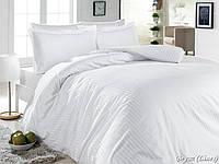 Комплект First choice сатин люкс Beyaz Lines 200Х220