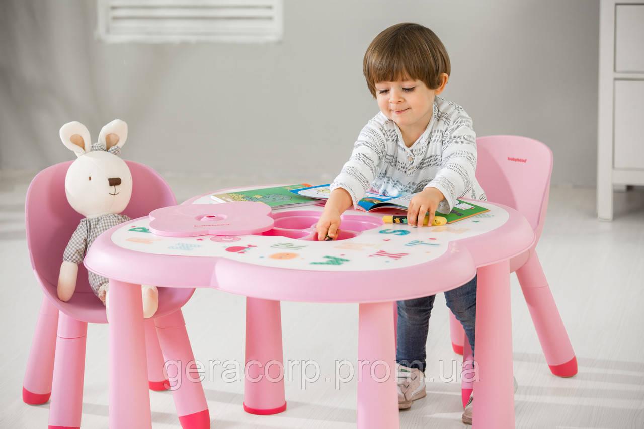 Детский столик АВС Babyhood