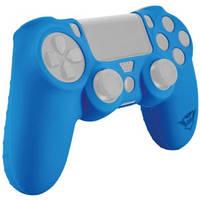 Силиконовая накладка Trust GXT 744R Rubber Skin для PS4 Blue