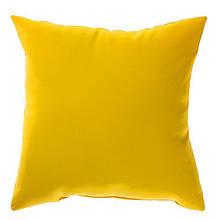 """Мягкая декоративная подушка """"Decor Желтый"""""""