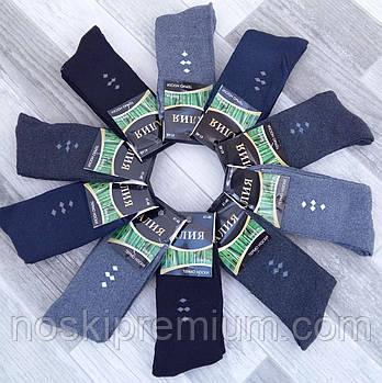 Шкарпетки чоловічі термо махрові бамбук Алія, розмір 41-48, асорті, А6