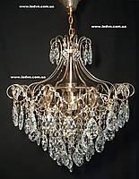Хрустальная люстра в золоте 6 ламп 1144, фото 1
