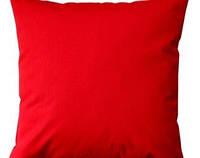 """Мягкая декоративная подушка """"Decor Красный"""""""
