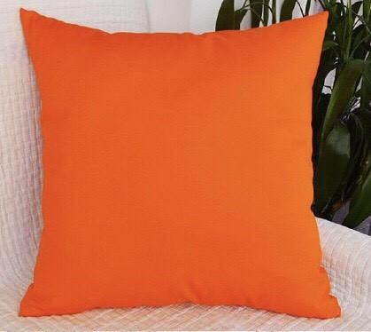 "Мягкая декоративная подушка ""Decor Оранжевый"""