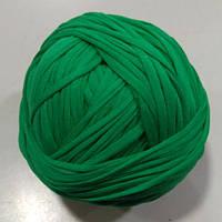 Пряжа трикотажная Бобина № ярко-зеленый