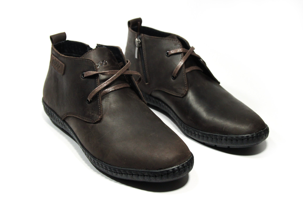 Ботинки мужские ECCO (реплика) 13038 ⏩ [ 41.43,44 ]