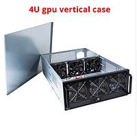 CHEETAH корпус закрытый фермы на 8 GPU, майнинг, металл 1мм, на 6 кулеров, на 1 блок питания, 13кг + кулеры