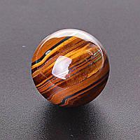 Шар сувенир Тигровый Глаз, диаметр 37мм
