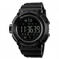 Skmei 1245  черные мужские спортивные смарт часы, фото 1