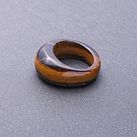Кольцо перстень из натурального камня Тигровый глаз р-р 19-20мм