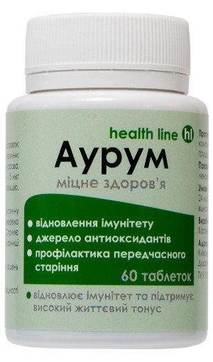 Диетическая добавка Аурум для укрепления иммунитета 60 табл.
