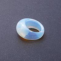 Кольцо Перстень из натурального Лунного камня р-р 18-20мм