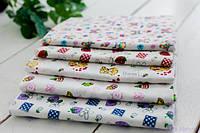 Фланелевые пеленки для новорожденных - Набор из 5 (пяти) байковых пеленок