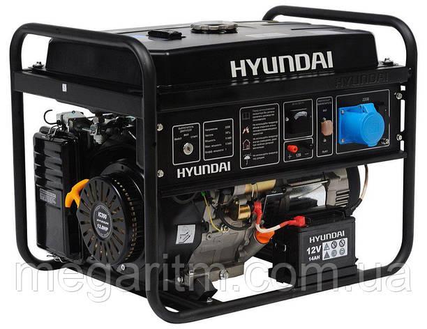 Бензиновый генератор Hyundai HHY 7010FE ATS, фото 2