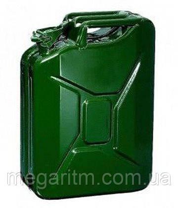 Канистра для ТСМ ( Топливно-Смазочных материалов) C-20G, вертикальная, зелёная, 20 л