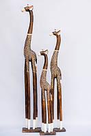 """Семья жирафов расписных """"Малах"""" (150, 120 и 100 см)"""