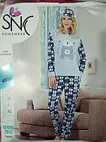 "Пижама теплая женская  Welsoft ""SNC"",Турция"