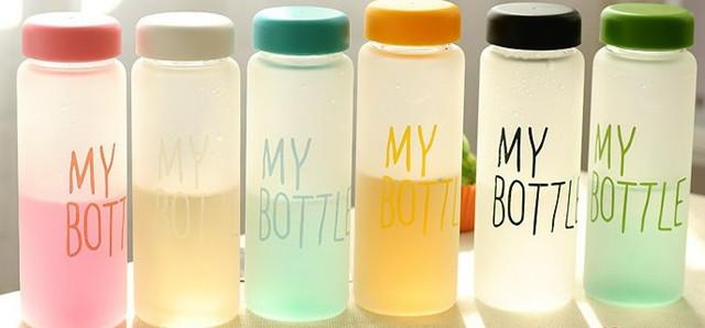 Бутылочка для воды My Bottle матовая (микс цветов)